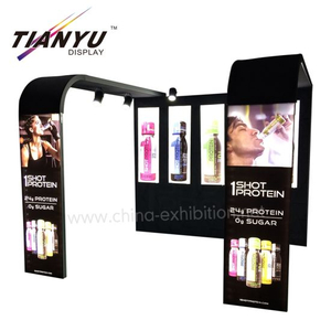Aluminium Modular Display DIY Fashion M Serie System Messestände 10x10
