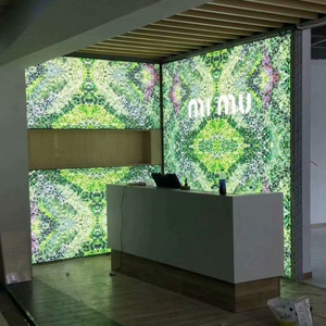 Clothing Store Windows-LED-Licht-Box Werbung Stoff Gestell Light Box LED Light Box-Panel