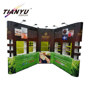 Heiße Selling Pop Up Banner für Happy Birthday Party Flex Banner Guangdong Fabrik Metall Pop Up Banner Display Stand