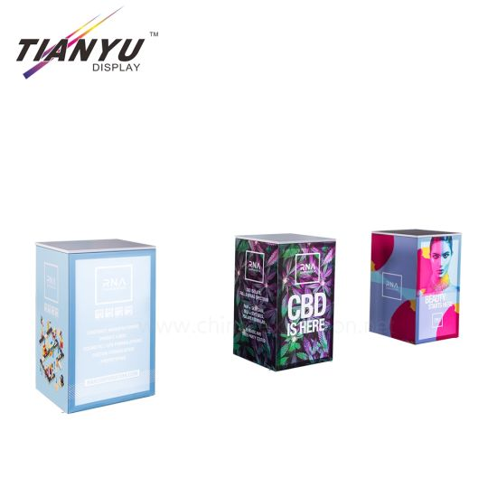 Magnetic Pop Up Display Aluminium Banner Stand Messestand