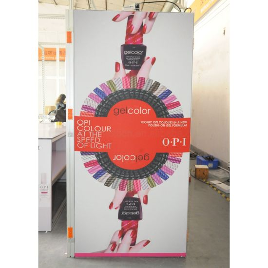 Customized ODM Logo Printing Messe Aluminium Ausstellung Tragbarer Promotion Anzeige