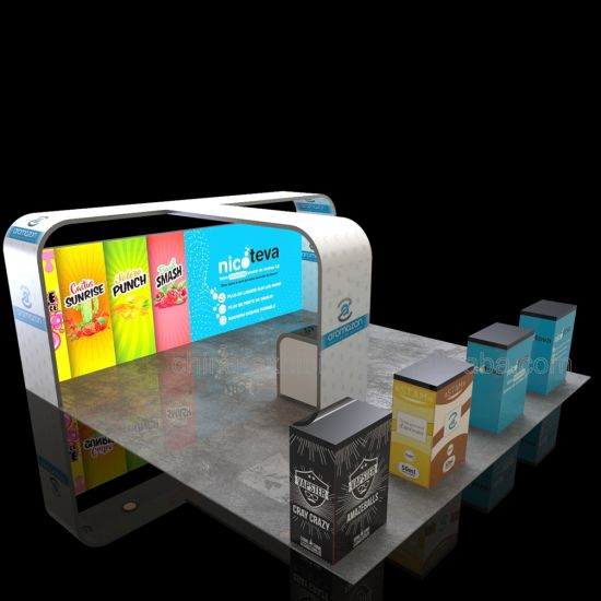 Tragbare Modular Mode 6X6 Trends Messestände Standard-Custom Messestand-Design
