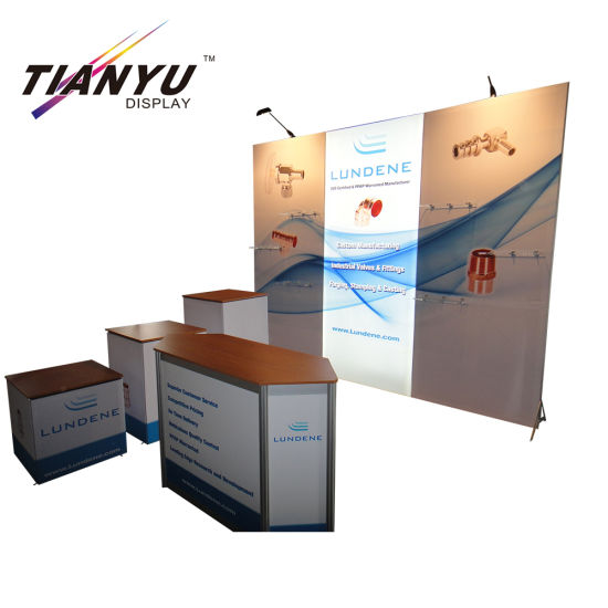 10FT Tragbare Messestand 3X3 Stand Display für Messe