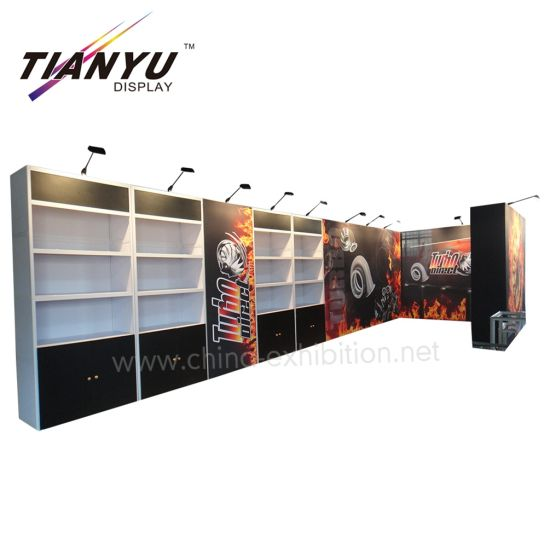 4x8m Individuelle Messestand-Design mit Acryl-Panel