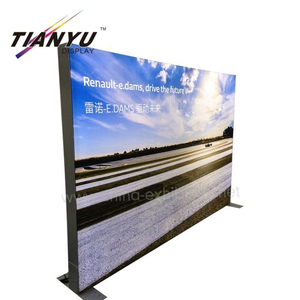 Double Side Gratis Stand Light Boxes dünne 65mm Frameless Stoff Light Box mit Edge-Lit-Modul